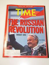 Time Magazine- The Russian Revolution: Boris Yeltsin- September 2, 1991