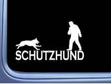 Schutzhund Decoy L794 8 inch Sticker dog german shepherd sleeve Decal