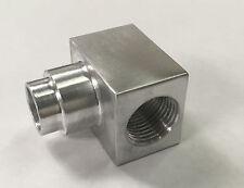 LS Billet Press Fit Power Steering 90 Degree Fitting for GM Type II Pump