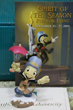 WDCC Ghost of Christmas Past -Jiminy Cricket ornament - Pinocchio - NIB + card
