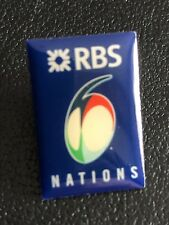 RBS SIX NATIONS CHAMPIONSHIP OFFICIAL LAPEL PIN BADGE