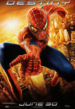 SPIDERMAN 2 Original Movie Poster  - Marvel Double Sided 27x40 ~ Advance Style
