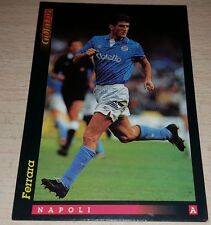 CARD GOLD 1993 NAPOLI FERRARA CALCIO FOOTBALL SOCCER ALBUM