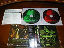 Overkill / Wrecking Everything - Live JAPAN 2CD CRCL-4764/65 OOP!!! *S