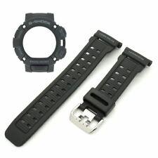 Genuine Casio Watch Band & Bezel Set G-Shock Mudman GW-9000 Black Strap & Shell