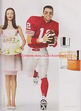 Clinique Happy Now For Men 2000 Magazine Advert #7749