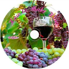 Learn How To Make Wines & Spirits cd Recipes Cookbooks Book Vintage  Home Easy