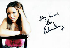 Celena CHERRY The HONEYZ Lead Singer Signed Photo 1 AFTAL Autograph COA