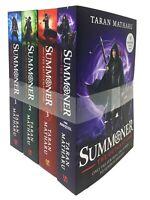 Taran Matharu Summoner 4 Books Collection set The Novice, Battlemage, Outcast