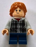Lego Harry Potter Ron Weasley hp154 (From 75955) Hogwarts Minifig Figurine New