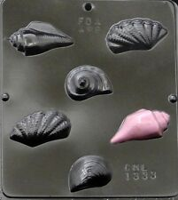 Sea Shells Seashells  Chocolate Candy Mold 1333 NEW