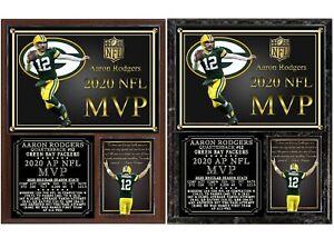 2020 Aaron Rodgers NFL MVP Photo Plaque