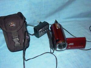 JVC    GZ-MG 330 RE   HDD  Micro  SD  Everio