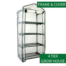 Four Tier Grow house - Mini Green House - Winter Storage - Seedlings - Garden