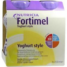 FORTIMEL Yoghurt Style Vanille Zitronegeschmack 4X200ml PZN 1124945