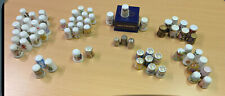 More details for 67 mixed thimbles.(coalport, silver, minton,japan+more) free shipping