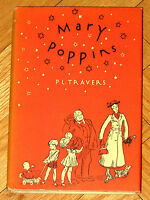 MARY POPPINS P.L. Travers 1959 Harcourt Brace and Company HBDJ VGC L1