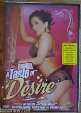 Peach A Taste of Desire DVD NEW Unrated Zoe Britton, Crissy Moran