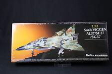 YQ020 HELLER 1/72 maquette avion 80325 Saab Viggen AJ.37/SF.37/SK.37