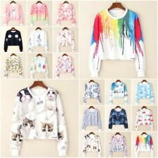 Woman Sailor Moon printed round-neck Sweatshirt long sleeve one size 0240