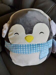 "Squishmallows 12"" Christmas 2020 Penguin"