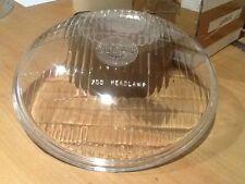 "LUCAS HEADLAMP HEADLIGHT 700 GLASS 7"" LENES CLASSIC CAR / MOTORBIKE"