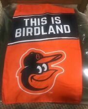 THIS IS BIRDLAND Baltimore Orioles Yard Flag Giveaway MLB 5/9 Limited SGA