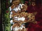 dog tapestry vintage beautiful 18 x 36 inches
