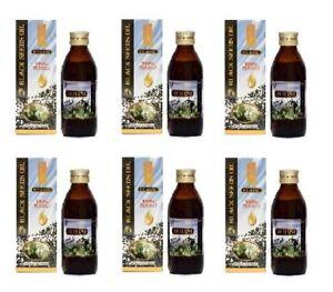 6x Hemani Black Seed/ Nigella Sativa Oil 100% Pure Kolanji Oil 125ml