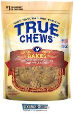 True Chews Dog Treats Premium Bakes Chicken Peanut Butter Apple Recipe 8 oz USA