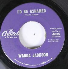 Country 45 Capital Records - I'D Be Ashamed / In The Middle Of A Heartache On Ca