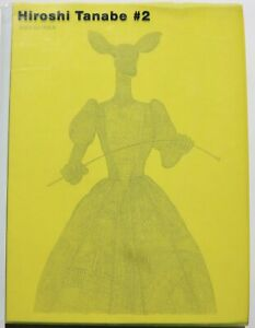 Hiroshi Tanabe #2 fashion drawing illustration 2003 hardback 1st edition book