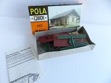 POLA QUICK HO B-803  MAQUETTE A CONSTRUIRE HANGAR TRAIN DIORAMA