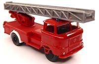 H0 IFA W 50 L Feuerwehr Drehleiter Leiterfahrzeug Blaulicht Schlauchhaspel DDR