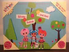 "Retired Rare Lalaloopsy Light Up Canvas LED Wall Art 15.75"" x 11.5"""