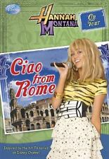 Hanna Montana CIAO FROM ROME Disney Press BRAND NEW BOOK Gift Quality