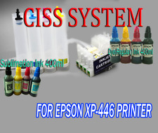 CISS Continuous Ink System For Epson XP-446 all in one printer