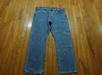"Levi's 501 Buuton-Fly Straight Leg Jeans Men's Size 40 X 30"" Medium Wash EUC"