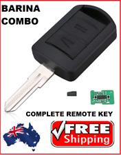Holden Barina Combo Remote key FOB Immobiliser 2001 2002 2003 2004 2005  - HU46
