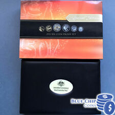 2012 RAM SIX COIN PROOF SET WITH GOLD PLATED 50c COIN