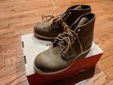 """Factory Second Red Wing 6"""" Round Toe 8824 Olive Mohave sz 7 mens"""