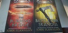 2 Rangers Apprentice:  Burning Bridge and Battle for Skandia