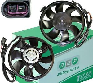 RADIATOR COOLING FAN WITH MOTOR FOR AUDI A4 (B5, B6) A6 (C5, C6) A8 SKODA SUPERB