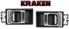 Kraken Nissan Hardbody Truck For Inside Door Handles 86-97 Pair W/Chrome Handle