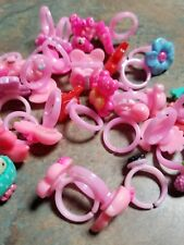 Vending Machine Capsule Toys Or Resell 28 Rings Kids Size