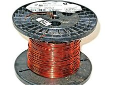 17 AWG Essex Magnet Wire Enameled Heavy Build 200 Degree Celsius .7 LB Spool