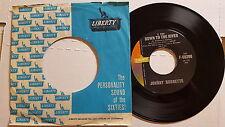 "JOHNNY BURNETTE - Little Sad Boy / Down to the River 1961 POP ROCK VOCAL 7"""
