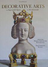 LIVRE/BOOK : ART DECORATIFS DU MOYEN AGE A LA RENAISSANCE (bijoux,orfèvrerie ...