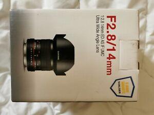 SAMYANG MF 14mm F2,8 Fuji X