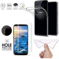 für Samsung Galaxy S9 Handy hülle Cover Case klar Folie